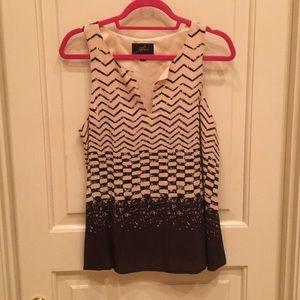 Akiko patterned blouse